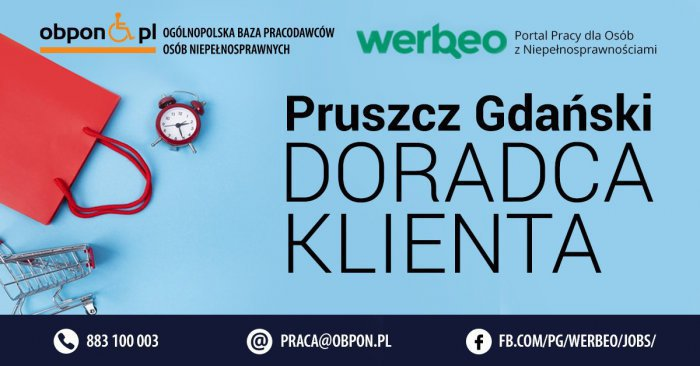 Doradca Klienta - Pruszcz Gdański
