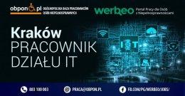Pracownik działu IT - Kraków