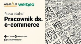 Pracownik ds. e-commerce – praca zdalna.