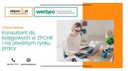Konsultant ds. księgowych w ZPCHR i na otwartym rynku pracy - praca zdalna