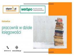 Pracownik w dziale księgowości - Katowice / z orzeczeniem o niepełnosprawności